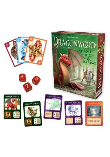 Gamewright Dragonwood: A Game of Dice and Daring