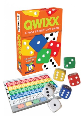 Gamewright Qwixx - A Fast Family Dice Game