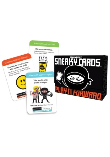 Gamewright Sneaky Cards: Play it Forward Party Game