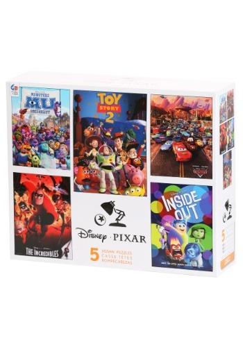 Disney Pixar 5 in 1 Multi Pack Puzzles