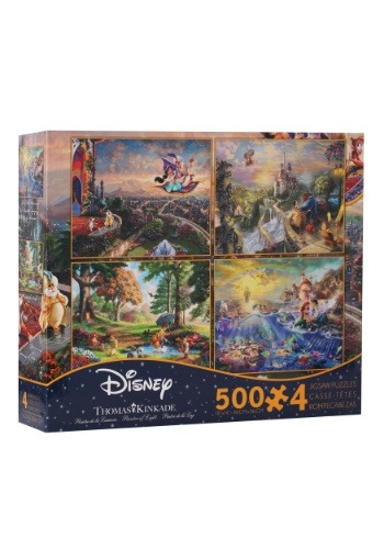 Disney Dreams Collection 4- 500 piece Thomas Kinkade