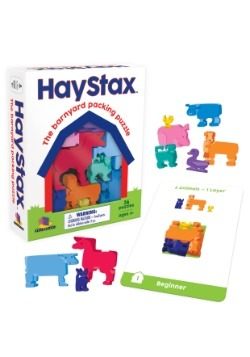Brainwright Hay Stax- The Barnyard Packing Puzzle
