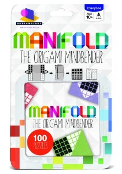 Brainwright Manifold The Origami Mindbender 100 Puzzles