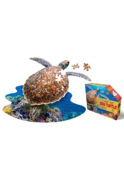 Madd Capp I am Lil' Sea Turtle 100 Piece Puzzle