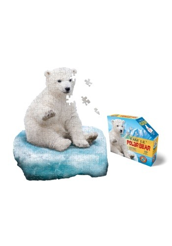 Madd Capp I Am Lil' Polar Bear 100 Piece Puzzle