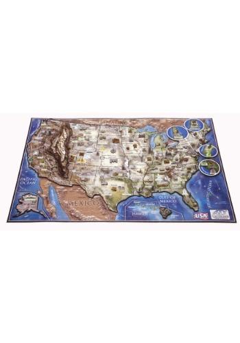 4D Cityscape USA History 3D Puzzle