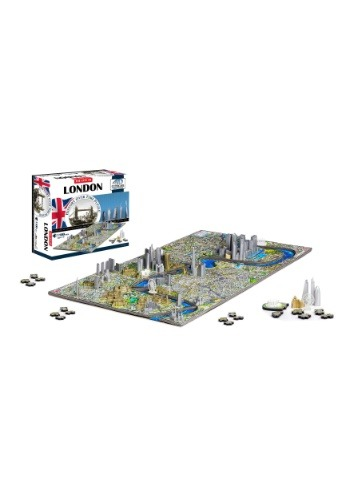 4D Cityscape London, England Time Puzzle
