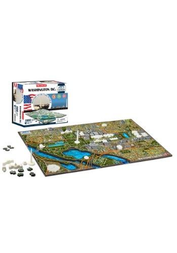 4D Cityscape Washington DC, USA Time Jigsaw Puzzle
