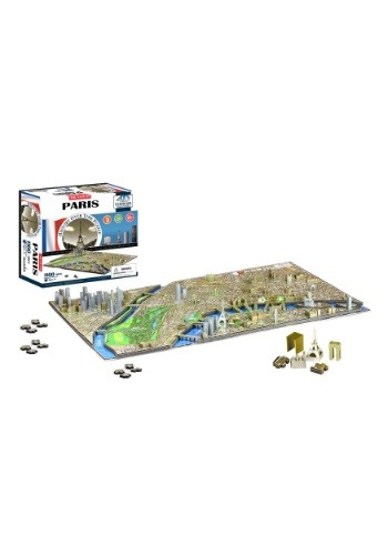 4D Cityscape Paris, France Time Jigsaw Puzzle