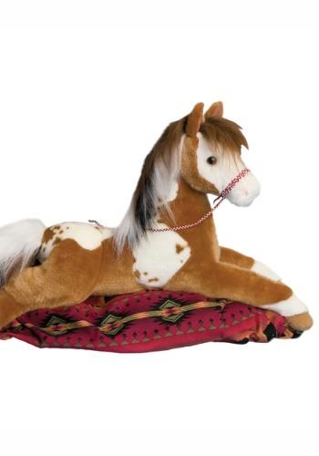 """Cloud Dancer Indian Prairie Horse Plush- 22"""" long"""
