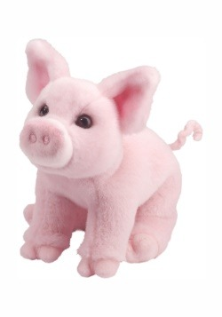 Betina the Pink Pig Plush
