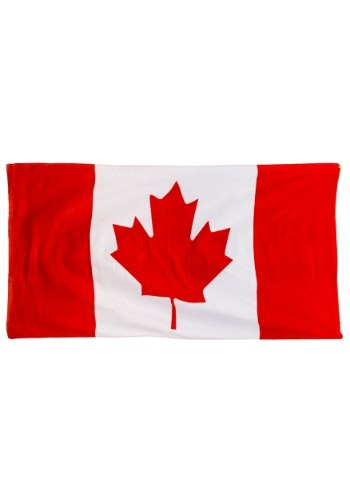 Canadian Flag Beach Towel