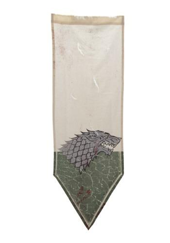 Game of Thrones Winterfell Battle Worn (Distressed Banner)