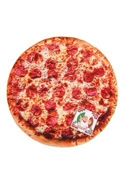 "Photo Realistic Pizza Blanket 60"" Diameter"