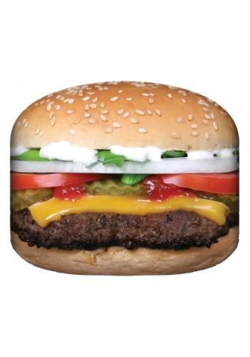 """Photo Realistic Hamburger Blanket 50 x 60"""""""