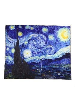 Vincent Van Gogh Starry Night Blanket 50 x 63 inch