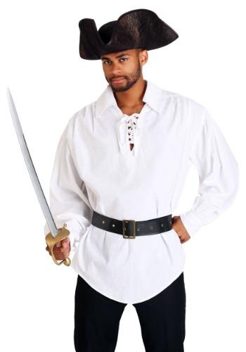 White Pirate Mens Shirt