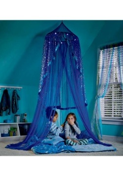 Blue Celestial Starry Night Canopy