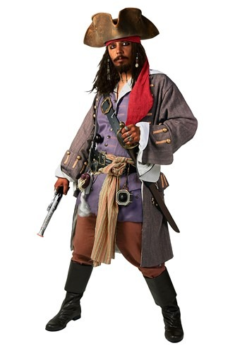 Supreme Caribbean Pirate Men's Costume