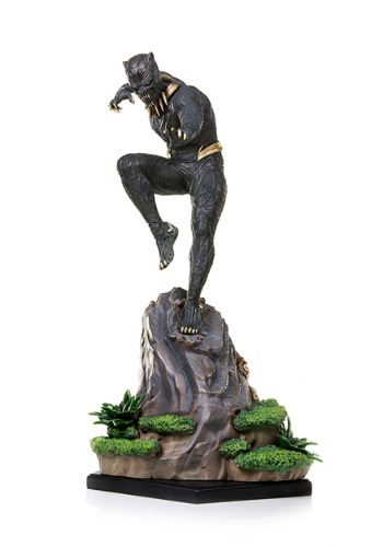 Black Panther Killmonger Iron Studios Battle Diorama