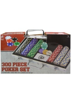 300 Piece Poker Chip Set