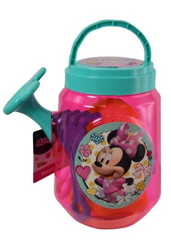 Minnie Mouse Clear Beach Watering Can