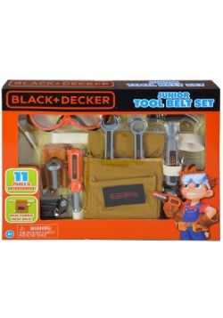 Black & Decker 11pc Toy Tool Belt Set