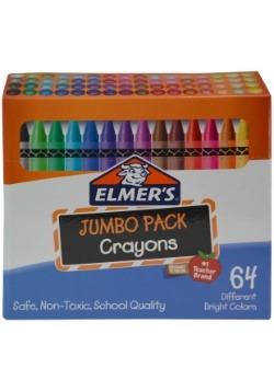 Elmer's Standard Size Crayons 64pk