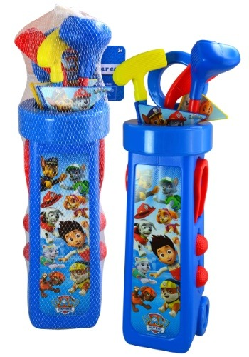 Paw Patrol Golf Set with Caddy
