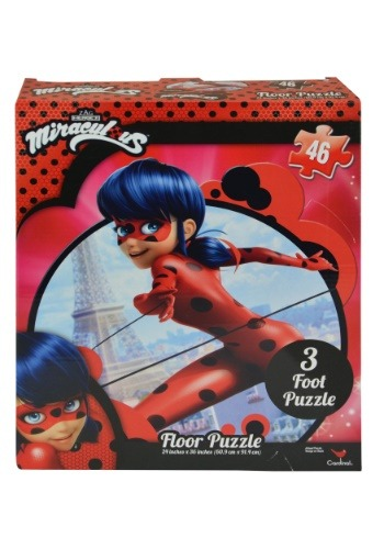Miraculous Ladybug 46pc Floor Jigsaw Puzzle