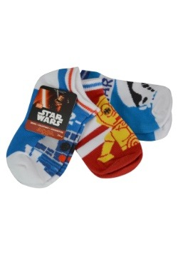 Star Wars Size 4-6 Ankle Sock 3pk