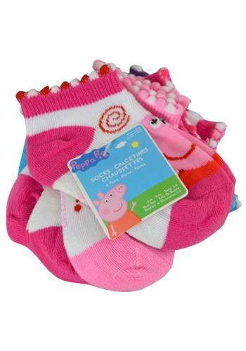 Peppa Pig Size 4-6 Sock 6pk