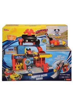 Mickey Mouse Roadster Racers Garage Play Set