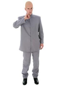 Plus Size Evil Gray Suit