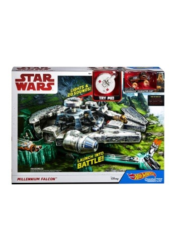 Hot Wheels Star Wars Millennium Falcon Playset