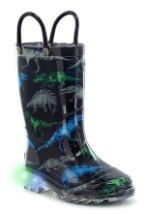 Dinosaur Friends Lighted Child Rainboots