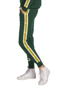 Women's Hunter Green Green Bay Packers Fleece Joggers