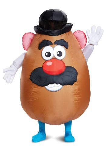 Adult Inflatable Mr. Potato Head Costume