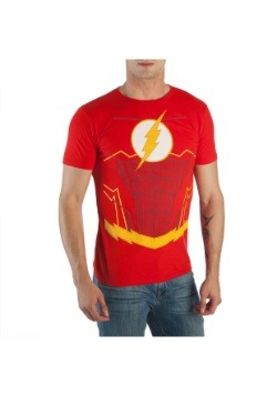 Flash Suit Up Men's Costume T-Shirt
