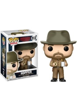 Pop! TV: Stranger Things- Hopper w/ Donut w/ Chase