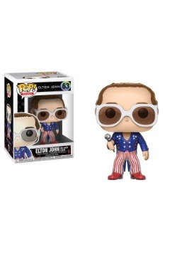 POP! Rocks: Elton John RED WHITE BLUE Vinyl Figure