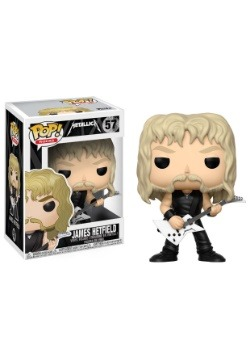 POP! Music: Metallica - James Hetfield Vinyl Figure