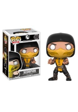 POP! Games: Mortal Kombat - Scorpion Vinyl Figure