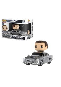 POP! Rides: James Bond w/ Aston Martin DB5 Vinyl Figure