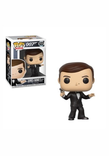 POP! Movies: James Bond Roger Moore Vinyl Figure