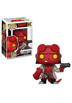 POP Comics: Hellboy- Hellboy w/Jacket w/ Chase