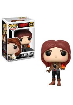 POP! Comics: Hellboy- Liz Sherman Vinyl Figure