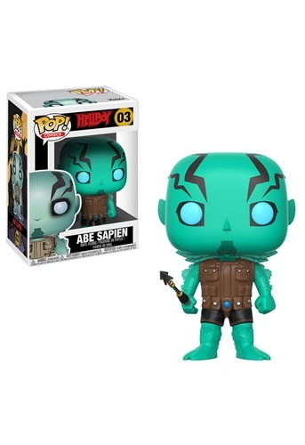 POP! Comics: Hellboy- Abe Sapien Vinyl Figure