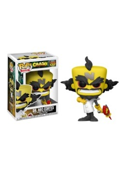 POP! Games: Crash Bandicoot- Dr. Neo Cortex Vinyl Figure