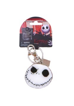 Jack Skellington Pewter Keychain